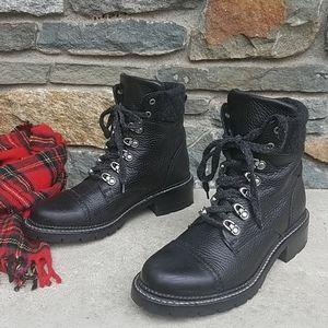 Frye Samantha hiker ankle boots
